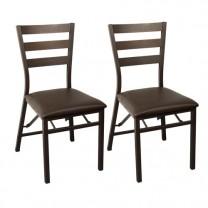 Chaises pliantes «Cambridge» - les 2