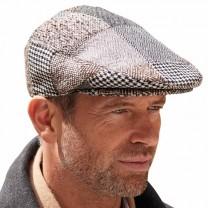 Casquette patchwork laine