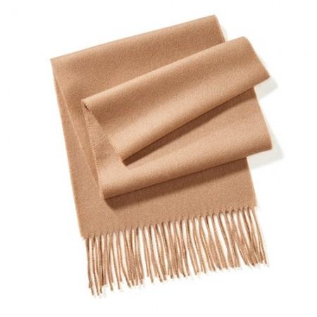 Écharpe laine & cachemire Camel