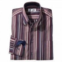 Chemise à rayures amincissantes