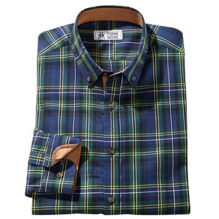 Chemise à carreaux clan