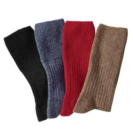 Chaussettes Derby Lambswool - les 4 paires