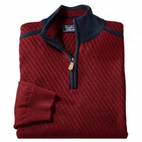 Pull Laine Col Montant