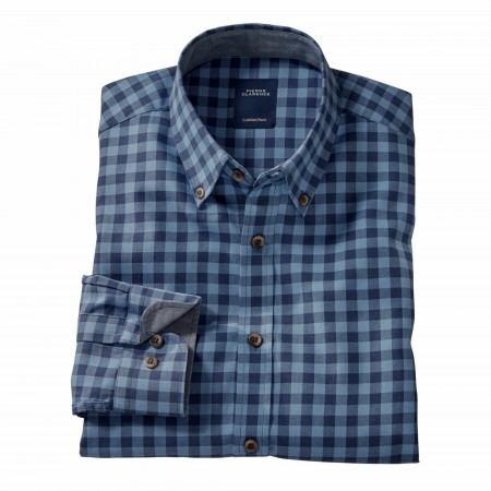Chemise Carreaux Vichy Pierre Clarence