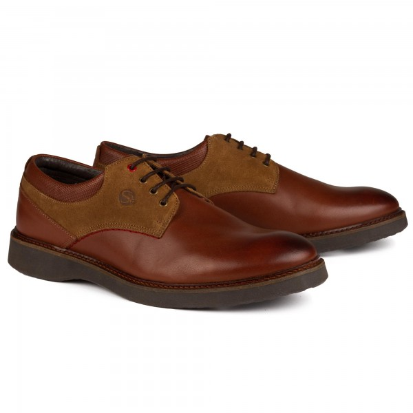 Derbys Cuir Walnut