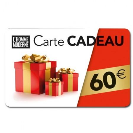 Carte cadeau 60 Euros