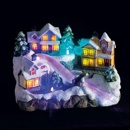 Village de Noël en fête