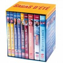 Coffret «Les meilleures sagas d'été» - les 21 DVDs