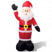 Père Noël géant lumineux