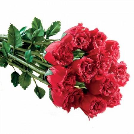 Bouquet «plumes de roses»