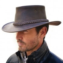 Chapeau cuir de buffle