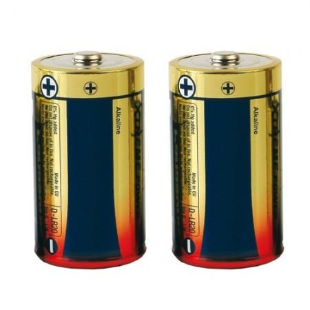 Piles alcalines R20 - Les 2