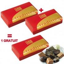 """Les 3 ballotins """"Delices du chocolat"""""""