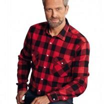 Chemise carreaux canadiens