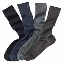 Chaussettes double face - les 4 paires