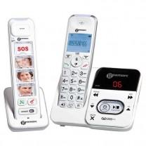 Duo téléphones sans fil tout confort