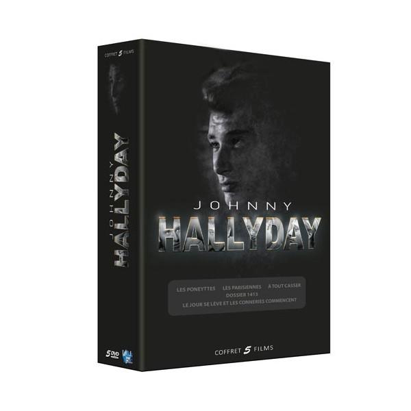 coffret cin ma johnny hallyday 5 dvd acheter cd dvd l 39 homme moderne. Black Bedroom Furniture Sets. Home Design Ideas