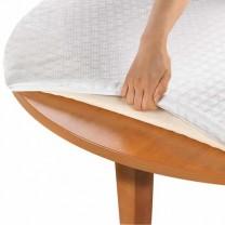 Housse Caligomme® pour table ronde