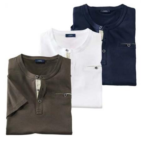 Les 3 tee-shirts assortis (de même taille)