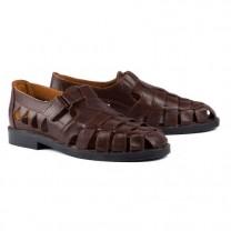 Sandales Cuir de Buffle