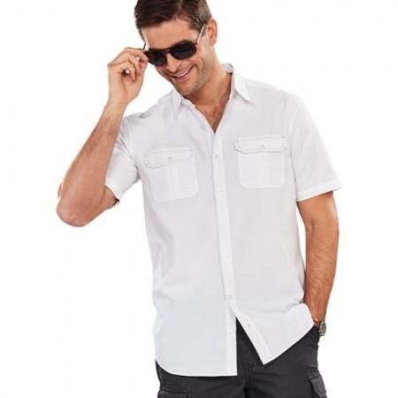 Les 2 chemisettes Black & White