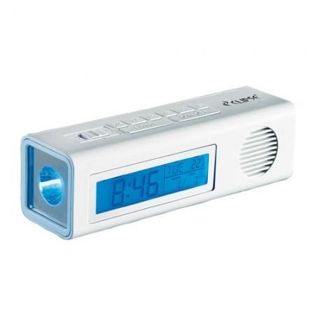 Réveil radio torche