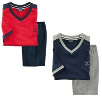 Pyjashort coton athletic - les 2