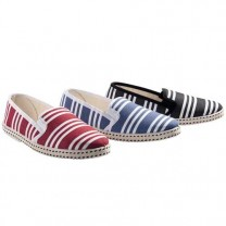 Chaussures toile yachting - les 3