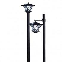 Réverbère/lanterne solaire - les 2