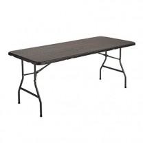 Table de jardin «rotin»