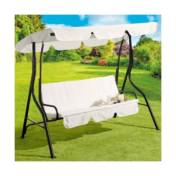 balancelle de jardin acheter d coration mobilier de jardin l 39 homme moderne. Black Bedroom Furniture Sets. Home Design Ideas
