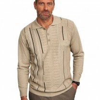 Pull-polo tricot