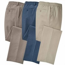 Pantalon total confort - les 3