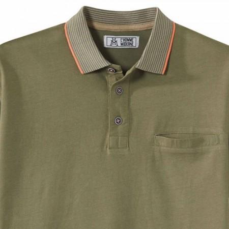 Polo jersey coton