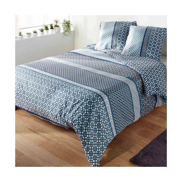 parure de lit microfibre acheter linge de maison l 39 homme moderne. Black Bedroom Furniture Sets. Home Design Ideas