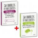 50 drôles d'anecdotes érotiques + 50 drôles d'anecdotes savantes - les 2 livres