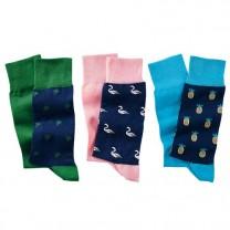 Chaussettes Coton Paradise - les 6 paires