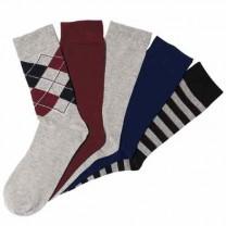 Chaussettes coton - les 5 paires