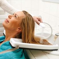 Bac à shampoing portable