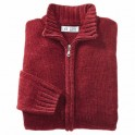 Gilet maille velours