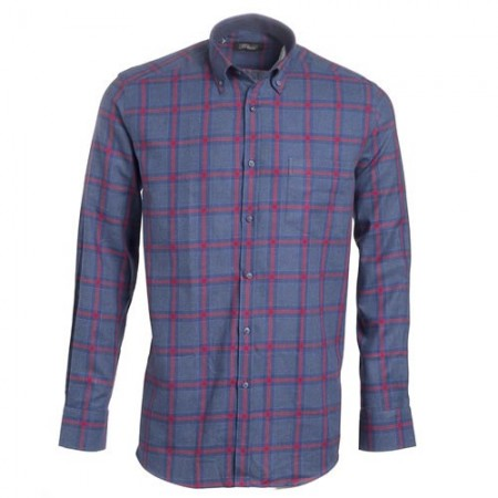 Chemise flanelle Red Denim