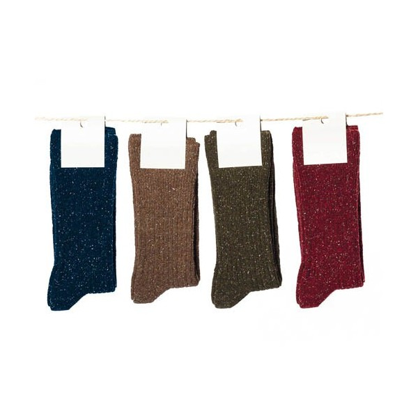 Chaussettes Laine & Soie - les 4 paires