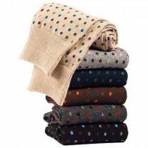 Chaussettes motifs Pois - les 6 paires