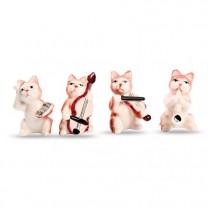Les quatre chats musiciens