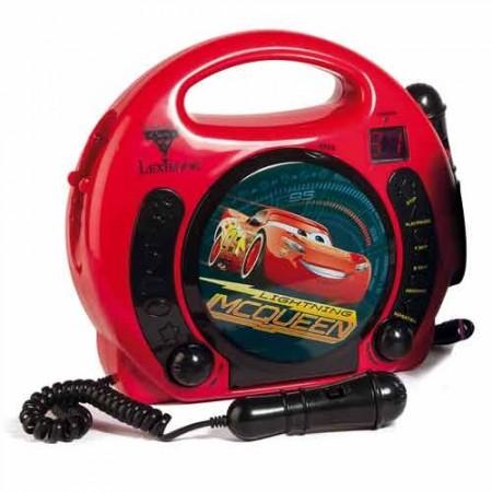 Lecteur CD karaoké Cars®