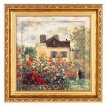 Le tableau Le Jardin de l'artiste à Argenteuil