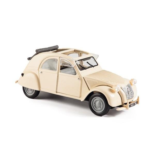 La 2 CV Citroën décapotée