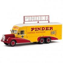 Le camion Pinder Bernard 28 centrale électrique