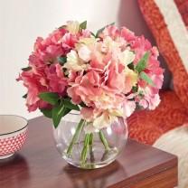 Le bouquet d'hortensias éternels