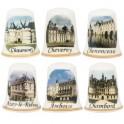 Les 6 dés châteaux de la Loire